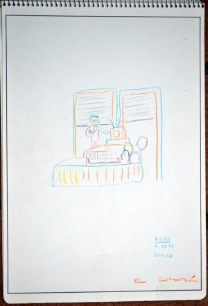 dibujos H III, 1